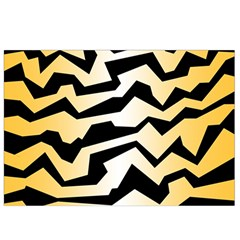 Polynoise Tiger Canvas Cosmetic Bag (small)