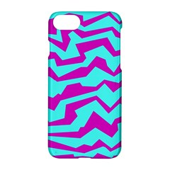 Polynoise Shock New Wave Apple Iphone 7 Hardshell Case by jumpercat