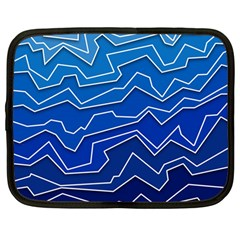 Polynoise Deep Layer Netbook Case (large) by jumpercat
