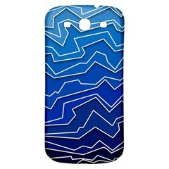 Polynoise Deep Layer Samsung Galaxy S3 S Iii Classic Hardshell Back Case by jumpercat