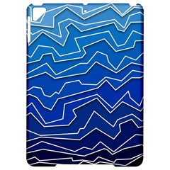 Polynoise Deep Layer Apple Ipad Pro 9 7   Hardshell Case by jumpercat