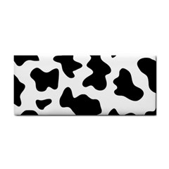 Animal Print Black And White Black Cosmetic Storage Cases by BangZart