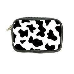 Animal Print Black And White Black Coin Purse