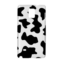 Animal Print Black And White Black Samsung Galaxy Note 4 Hardshell Case