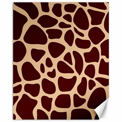 Animal Print Girraf Patterns Canvas 16  X 20