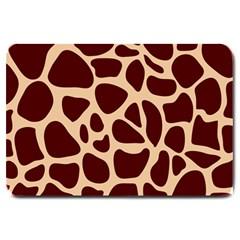 Animal Print Girraf Patterns Large Doormat