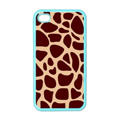 Animal Print Girraf Patterns Apple Iphone 4 Case (color) by BangZart