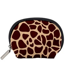 Animal Print Girraf Patterns Accessory Pouches (small)