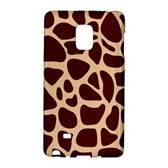 Animal Print Girraf Patterns Galaxy Note Edge
