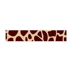 Animal Print Girraf Patterns Flano Scarf (mini)