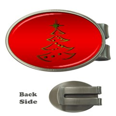 Christmas Money Clips (oval)