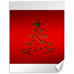 Christmas Canvas 12  X 16