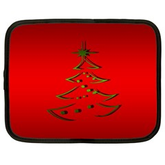 Christmas Netbook Case (large) by BangZart