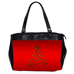 Christmas Office Handbags (2 Sides)  by BangZart