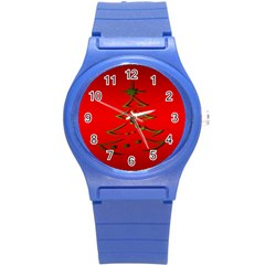 Christmas Round Plastic Sport Watch (s) by BangZart