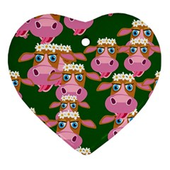 Seamless Tile Repeat Pattern Ornament (heart)