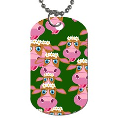 Seamless Tile Repeat Pattern Dog Tag (two Sides) by BangZart