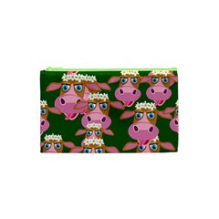 Seamless Tile Repeat Pattern Cosmetic Bag (xs)