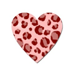 Seamless Tile Background Abstract Heart Magnet