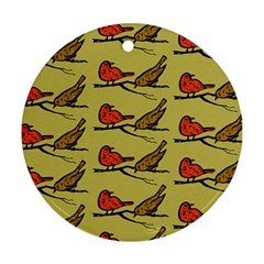Animal Nature Wild Wildlife Ornament (round)