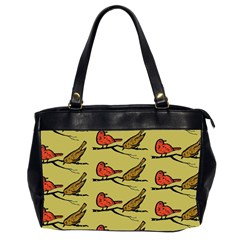 Animal Nature Wild Wildlife Office Handbags (2 Sides)  by BangZart