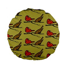 Animal Nature Wild Wildlife Standard 15  Premium Round Cushions