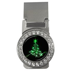 Christmas Tree Background Money Clips (cz)