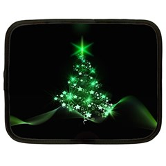 Christmas Tree Background Netbook Case (xxl)