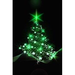 Christmas Tree Background 5 5  X 8 5  Notebooks