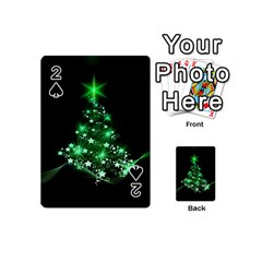 Christmas Tree Background Playing Cards 54 (mini)