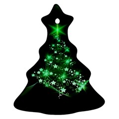 Christmas Tree Background Ornament (christmas Tree)