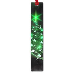 Christmas Tree Background Large Book Marks by BangZart