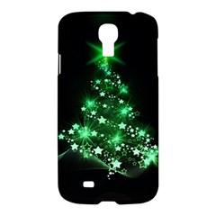 Christmas Tree Background Samsung Galaxy S4 I9500/i9505 Hardshell Case