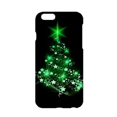Christmas Tree Background Apple Iphone 6/6s Hardshell Case by BangZart