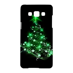 Christmas Tree Background Samsung Galaxy A5 Hardshell Case