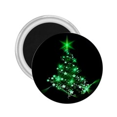 Christmas Tree Background 2 25  Magnets