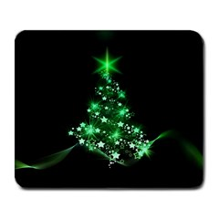 Christmas Tree Background Large Mousepads by BangZart