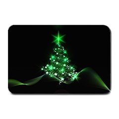 Christmas Tree Background Plate Mats
