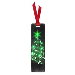 Christmas Tree Background Small Book Marks