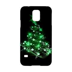 Christmas Tree Background Samsung Galaxy S5 Hardshell Case