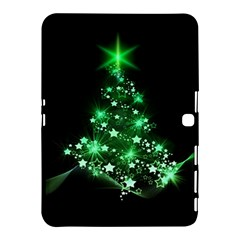 Christmas Tree Background Samsung Galaxy Tab 4 (10 1 ) Hardshell Case