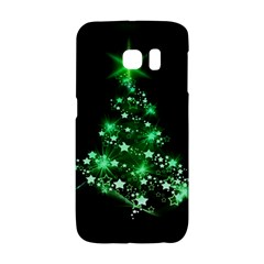 Christmas Tree Background Galaxy S6 Edge by BangZart