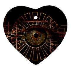 Eye Technology Ornament (heart)