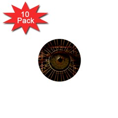 Eye Technology 1  Mini Buttons (10 Pack)  by BangZart