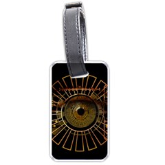 Eye Technology Luggage Tags (two Sides)