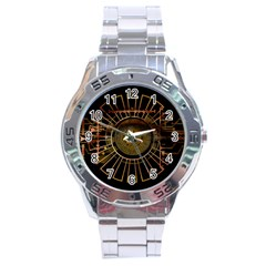 Eye Technology Stainless Steel Analogue Watch