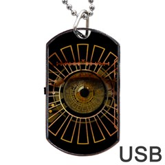 Eye Technology Dog Tag Usb Flash (one Side)