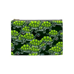 Seamless Tile Background Abstract Cosmetic Bag (medium)  by BangZart