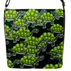 Seamless Tile Background Abstract Flap Messenger Bag (s)