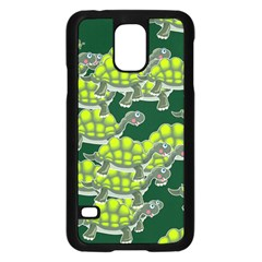 Seamless Tile Background Abstract Samsung Galaxy S5 Case (black)